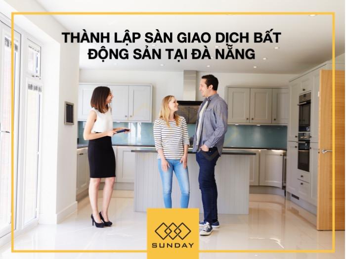 Thành lập sàn giao dịch bất động sản Đà Nẵng
