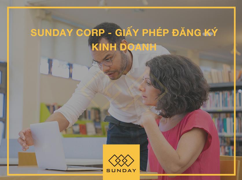 Giấy phép đăng kí kinh doanh 1 - Sunday Corp