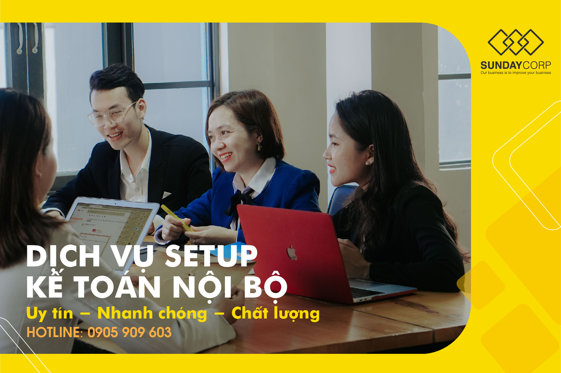 Dịch vụ setup kế toán nội bộ Đà Nẵng 1 - Sunday Corp