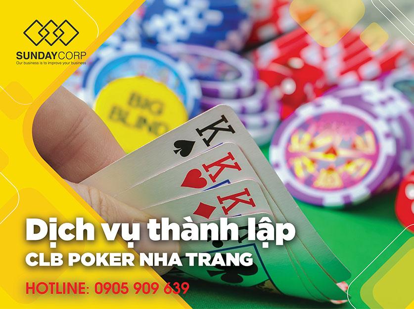 Thành lập clb poker tại Nha Trang