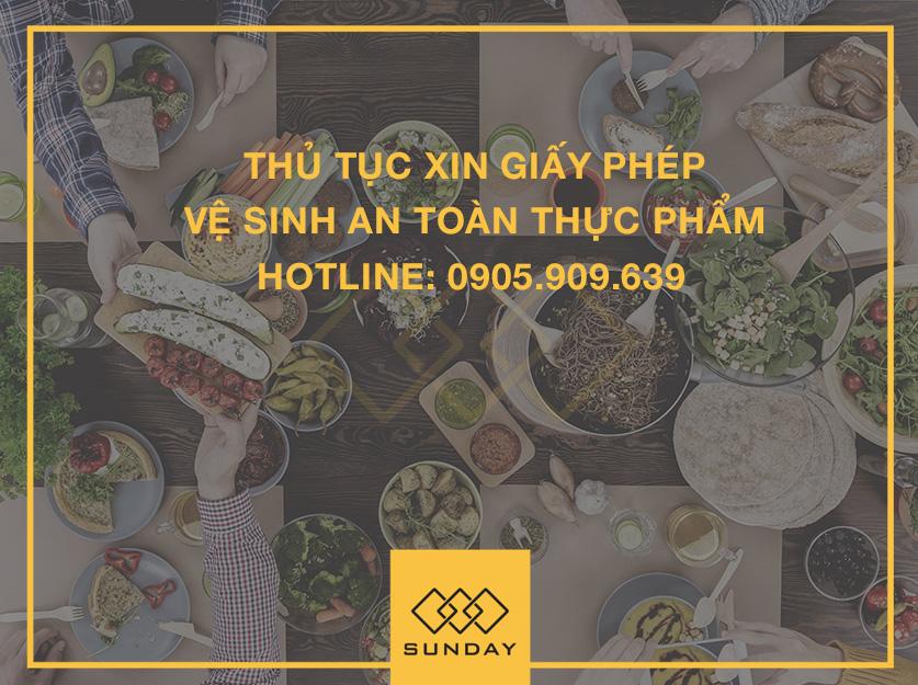 Xin giấy phép vệ sinh an toàn thực phẩm tại Đà Nẵng