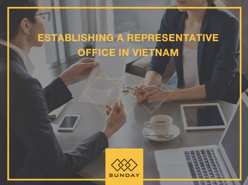 establish a representative office