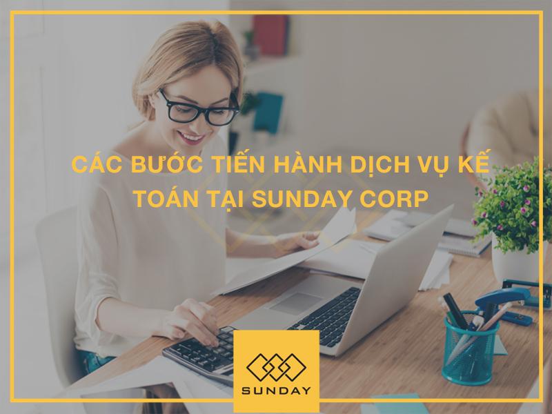 Các bước tiến hành dịch vụ kế toán tại Sunday Corp