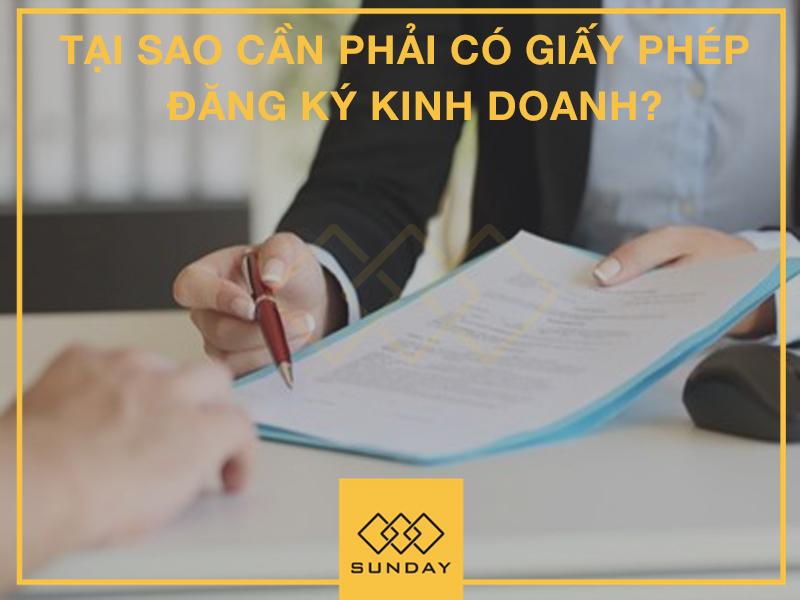 Tại sao cần phải có giấy phép đăng ký kinh doanh?