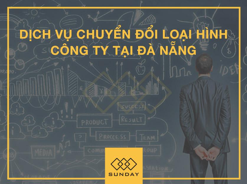 chuyển đổi loại hình công ty tại Đà Nẵng